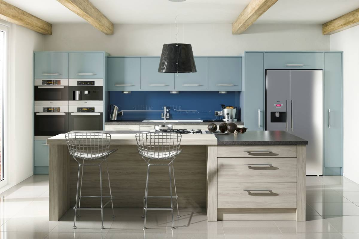 Modern kitchens in new styles and finishes at the leading edge