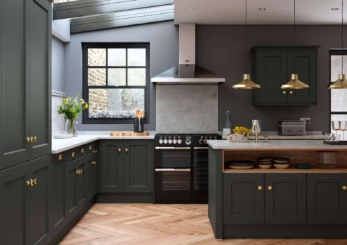 Classic Kitchens - Allestree bespoke painted Slate Grey - Establishing  rsz